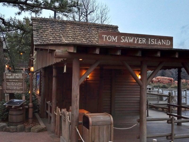 トムソーヤ島いかだ