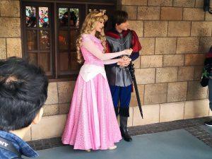 オーロラ姫とフィリップ