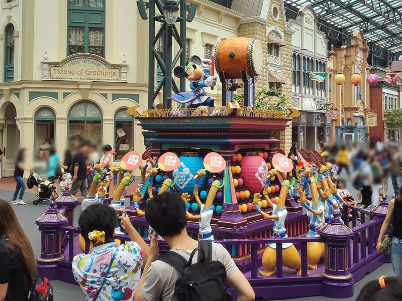 ディズニー夏祭り2017 やぐら