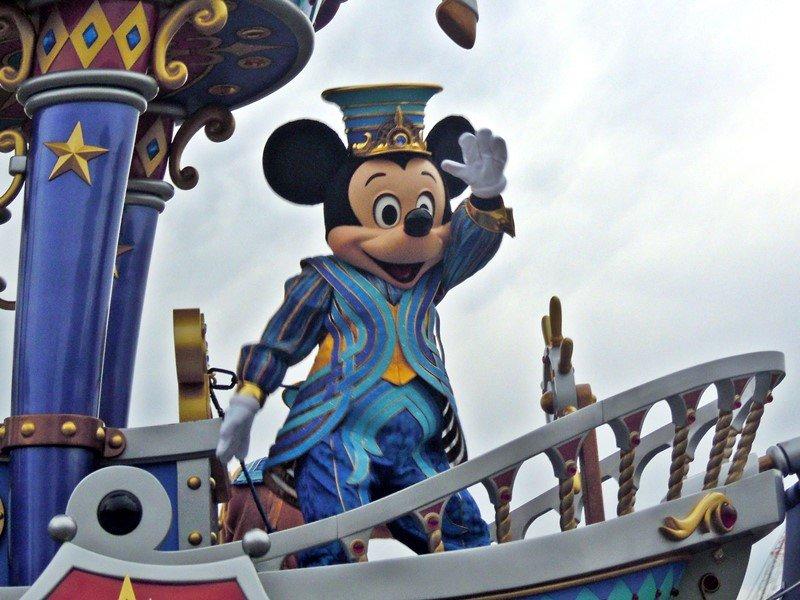 【TDL】35周年記念パレード「ドリーミング・アップ!」